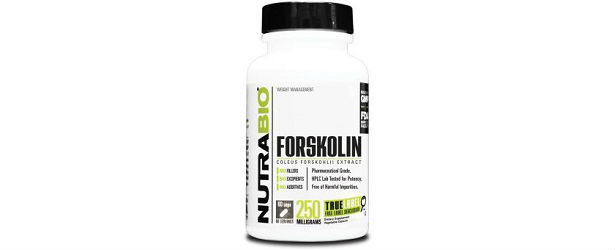 NutraBio Forskolin Weight Loss Supplement Review