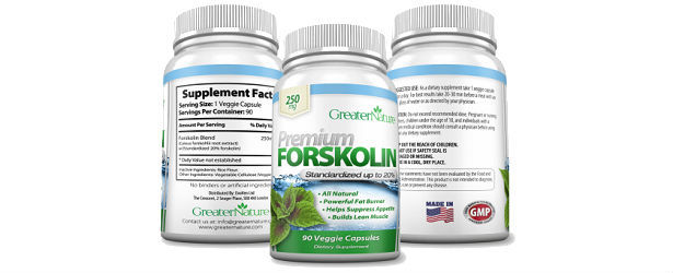 GreaterNature Premium Forskolin Product Review